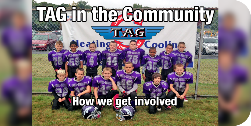 TAG sponsers a number of sports events in the surrounding community. Take a look at all the ways we give back.